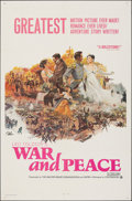 """Movie Posters:Foreign, War and Peace & Other Lot (Continental, 1968). Folded, Fine/Very Fine. One Sheets (4) (27"""" X 41""""). Foreign.. ... (Total: 4 Items)"""