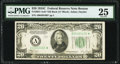 Fr. 2057-A* $20 1934C Old Back Federal Reserve Note. PMG Very Fine 25