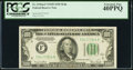 Small Size:Federal Reserve Notes, Fr. 2156-F $100 1934D Federal Reserve Note. PCGS Extremely Fine 40PPQ.. ...