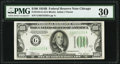 Small Size:Federal Reserve Notes, Fr. 2154-G $100 1934B Federal Reserve Note. PMG Very Fine 30.. ...