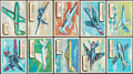 """Non-Sport Cards:Sets, 1957 Topps R707-2 """"Planes"""" Complete Set (120). ..."""