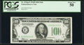 Small Size:Federal Reserve Notes, Fr. 2154-E $100 1934B Federal Reserve Note. PCGS About New 50.. ...