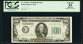 Small Size:Federal Reserve Notes, Fr. 2154-C $100 1934B Federal Reserve Note. PCGS Apparent Very Fine 35.. ...