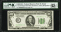 Small Size:Federal Reserve Notes, Fr. 2152-H $100 1934 Dark Green Seal Mule Federal Reserve Note. PMG Gem Uncirculated 65 EPQ.. ...
