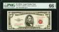 Fr. 1533* $5 1953A Legal Tender Note. PMG Gem Uncirculated 66 EPQ