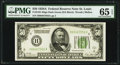 Fr. 2101-H $50 1928A Dark Green Seal Federal Reserve Note. PMG Gem Uncirculated 65 EPQ