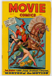 Movie Comics #4 (Fiction House, 1947) Condition: GD/VG