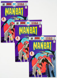 Man-Bat #1 Group of 22 (DC, 1976) Condition: VF+.... (Total: 22 Comic Books)