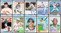 Baseball Cards:Sets, 1981 to 1984 Fleer and Topps Update Set Collection (4). ...