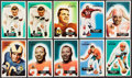 Football Cards:Lots, 1955 Bowman Football Collection (59). ...