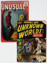 Journey Into Unknown Worlds #9/Strange Tales of The Unusual #6 Group (Atlas, 1952-56).... (Total: 2 Comic Books)
