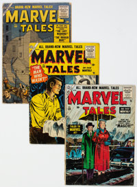 Marvel Tales Group of 5 (Atlas, 1955-57) Condition: Average GD+.... (Total: 5 Comic Books)