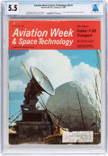 Explorers:Space Exploration, Magazines: Aviation Week & Space Technology Dated January 22, 1968, Directly From The Armstr...