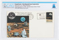 Explorers:Space Exploration, Philatelia: Apollo 11 Lunar Landing Cover Cancelled at Kennedy Space Center, Florida, Directly From The Armstrong ...