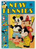Golden Age (1938-1955):Funny Animal, New Funnies #69 (Dell, 1942) Condition: VF....