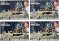 """Explorers:Space Exploration, Buzz Aldrin Revell """"Rocket Hero"""" Apollo 11 Models (Four), New in Boxes, Originally from His Personal Collection. ..."""
