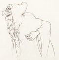 Animation Art:Production Drawing, Snow White and the Seven Dwarfs Old Hag Animation Drawing (Walt Disney, 1937)....