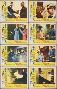 """The Ipcress File & Other Lot (Universal, 1965). Overall: Fine/Very Fine. Lobby Card Sets of 8 (2 Sets) (11"""" X 1..."""