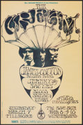"Movie Posters:Rock and Roll, Cream at The Fillmore & Winterland Ballroom (Bill Graham, 1968). Very Fine. First Printing Concert Poster (14"" X 22"") Stanle..."