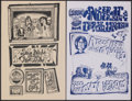 """Movie Posters:Rock and Roll, Dan Hicks and His Hot Licks & Others at the Egress Lot (1973-1974). Very Fine. Canadian Concert Window Cards (4) (11"""" X 17"""")... (Total: 4 Items)"""