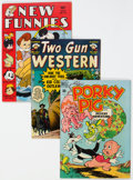 Golden Age (1938-1955):Miscellaneous, Golden Age Comics Group of 5 (Various Publishers, 1950s) Condition: Average FN.... (Total: 5 Comic Books)
