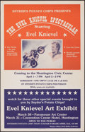 """Movie Posters:Action, The Evel Knievel Spectacular (1983). Very Fine. Window Card (14"""" X 22""""). Action.. ..."""