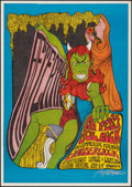 """Movie Posters:Rock and Roll, Joe Mock Concert by Bob Massey (1967). Very Fine. Signed Concert Window Card (12.75"""" X 18""""). Rock and Roll.. ..."""