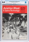 Explorers:Space Exploration, Magazines: Aviation Week & Space Technology Dated March 22, 1967, Directly From The Armstron...