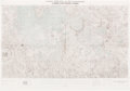 Explorers:Space Exploration, NASA Lunar Earthside Chart (LMP-1), Directly From The Armstrong Family Collection™, CAG Certified. ...