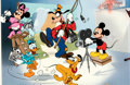 Animation Art:Limited Edition Cel, Mickey Mouse and Friends Hand-Painted Cal Arts Open Edition Cel (Walt Disney, 1992). ...