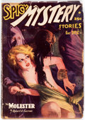Pulps:Horror, Spicy Mystery Stories - December 1937 (Culture) Condition: GD....