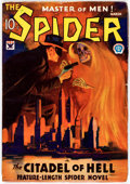 Pulps:Hero, The Spider - March 1934 (Popular) Condition: VG....