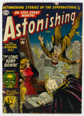 Golden Age (1938-1955):Horror, Astonishing #14 (Atlas, 1952) Condition: VG....
