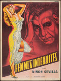"""Movie Posters:Foreign, Sensualidad (Sonofilm, 1953). Folded, Fine+. French Grande (47.25"""" X 63""""). Foreign.. ..."""