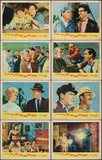 """It's a Mad, Mad, Mad, Mad World (United Artists, 1963). Fine/Very Fine. Lobby Card Set of 8 (11"""" X 14"""").Comedy..."""