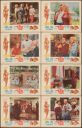 """Movie Posters:Comedy, Panic Button & Other Lot (Gorton Associates, 1964). Overall: Very Fine-. Lobby Card Sets of 8 (2 Sets) (11"""" X 14""""). Comedy.... (Total: 16 Items)"""
