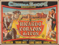 """Movie Posters:Adventure, King Richard and the Crusaders (Warner Bros., 1955). Folded, Fine+. Argentinean Horizonal Two Sheet (57.5"""" X 43.5"""") Nelson A..."""