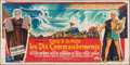 """Movie Posters:Drama, The Ten Commandments (Paramount, 1956). Folded, Fine+. French Six Panel (Approximately 189"""" X 94"""") Roger Soubie Artwork. Dra..."""