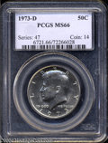 Kennedy Half Dollars: , 1973-D MS66 PCGS. ...