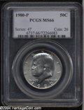 Kennedy Half Dollars: , 1980-P MS66 PCGS. ...