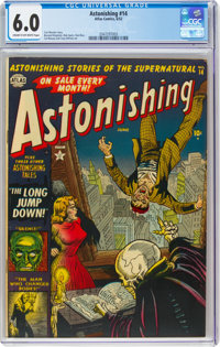 Astonishing #14 (Atlas, 1952) CGC FN 6.0 Cream to off-white pages