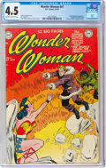 Golden Age (1938-1955):Superhero, Wonder Woman #47 (DC, 1951) CGC VG+ 4.5 Cream to off-white pages....