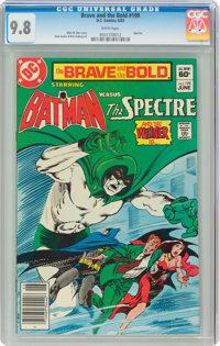 The Brave and the Bold #199 Batman and the Spectre (DC, 1983) CGC NM/MT 9.8 White pages