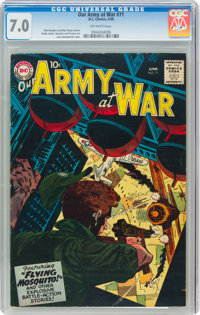 Our Army at War #71 (DC, 1958) CGC FN/VF 7.0 Off-white pages