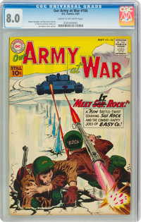 Our Army at War #106 (DC, 1961) CGC VF 8.0 Cream to off-white pages