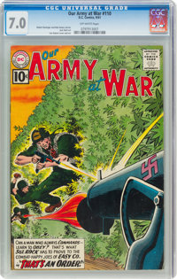 Our Army at War #110 (DC, 1961) CGC FN/VF 7.0 Off-white pages