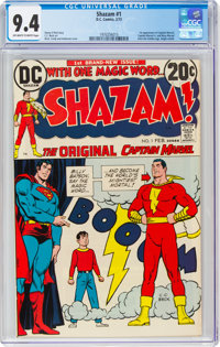 Shazam! #1 (DC, 1973) CGC NM 9.4 Off-white to white pages