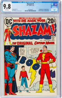 Shazam! #1 (DC, 1973) CGC NM/MT 9.8 White pages