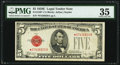 Fr. 1530* $5 1928E Legal Tender Note. PMG Choice Very Fine 35