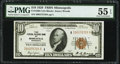 Fr. 1860-I $10 1929 Federal Reserve Bank Note. PMG About Uncirculated 55 EPQ